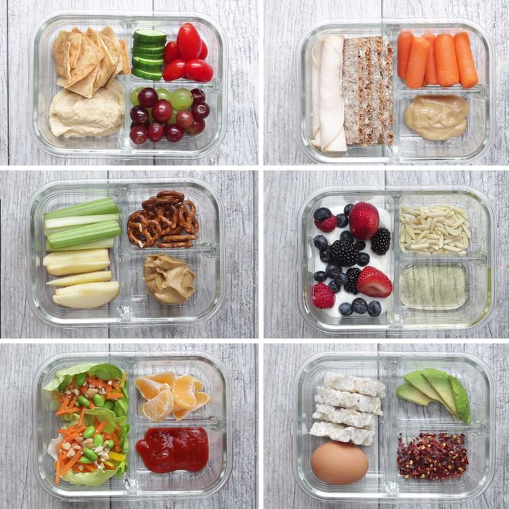 6 Easy Snack Boxes saludables para el colegio