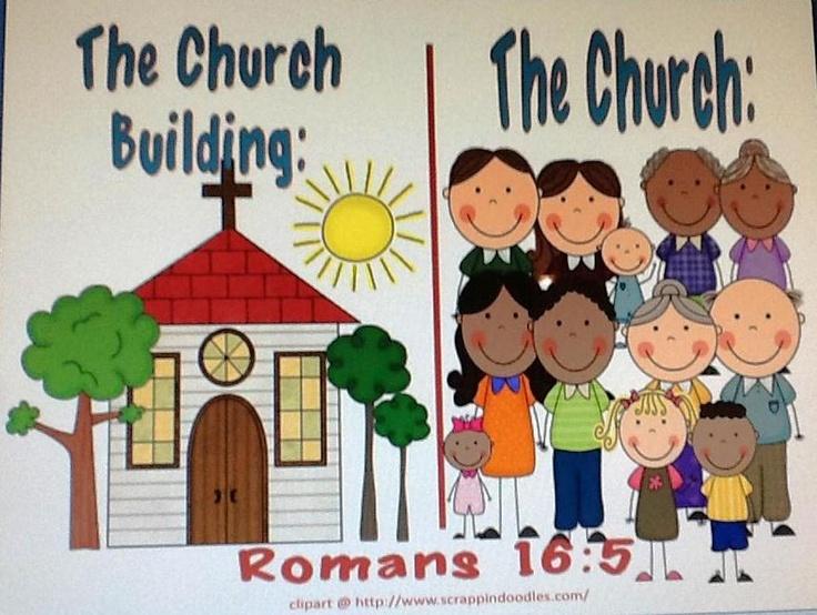 Church vs. church building printable
