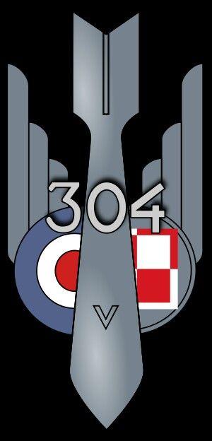"""No.304 Polish Bomber Sqn.RAF  Dywizjon Bombowy """"Ziemi Śląskiej im. Ks. Józefa Poniatowskiego"""""""