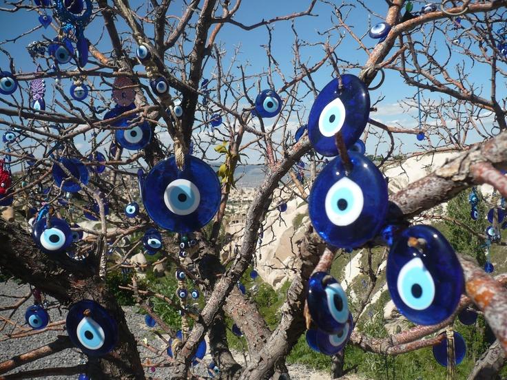 Cappadocia, the evil eye bead, evil eye, eye bead