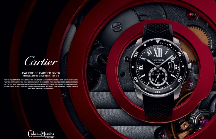 #Cartier #Calibre #Diver Automatic - W7100056 - £5272 Available online at:  http://www.cohenandmassias.com/product/cartier/calibre-cartier-diver-automatic-blk-rubb/5448/