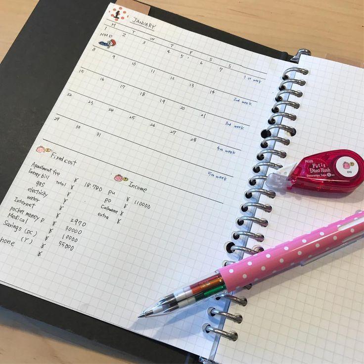 とりあえず皆様の家計簿を参考に1月のフォーマットらしきものを作って見ました。 づんの家計簿方式で細かく書いて行くか…… でも、ずぼらな私に続くのか 悩み中です。。 英語の勉強中 #づんの家計簿 #家計簿 #家計簿初心者 #家計簿フォーマット#英語の勉強