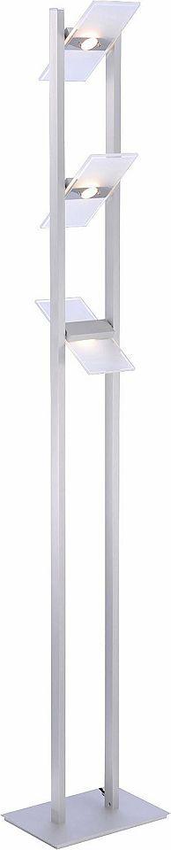 Paul Neuhaus LED-Stehleuchte, 3flg., »PUKKA« Jetzt bestellen unter: https://moebel.ladendirekt.de/lampen/stehlampen/standleuchten/?uid=d9f91d9b-e146-5754-9f60-b69466d1d386&utm_source=pinterest&utm_medium=pin&utm_campaign=boards #stehlampen #leuchten #lampen #stehleuchten