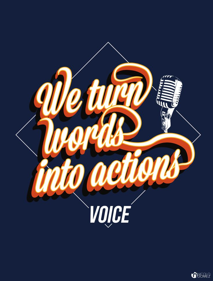 nicologomez We turn words into action by Nicolo Gomez