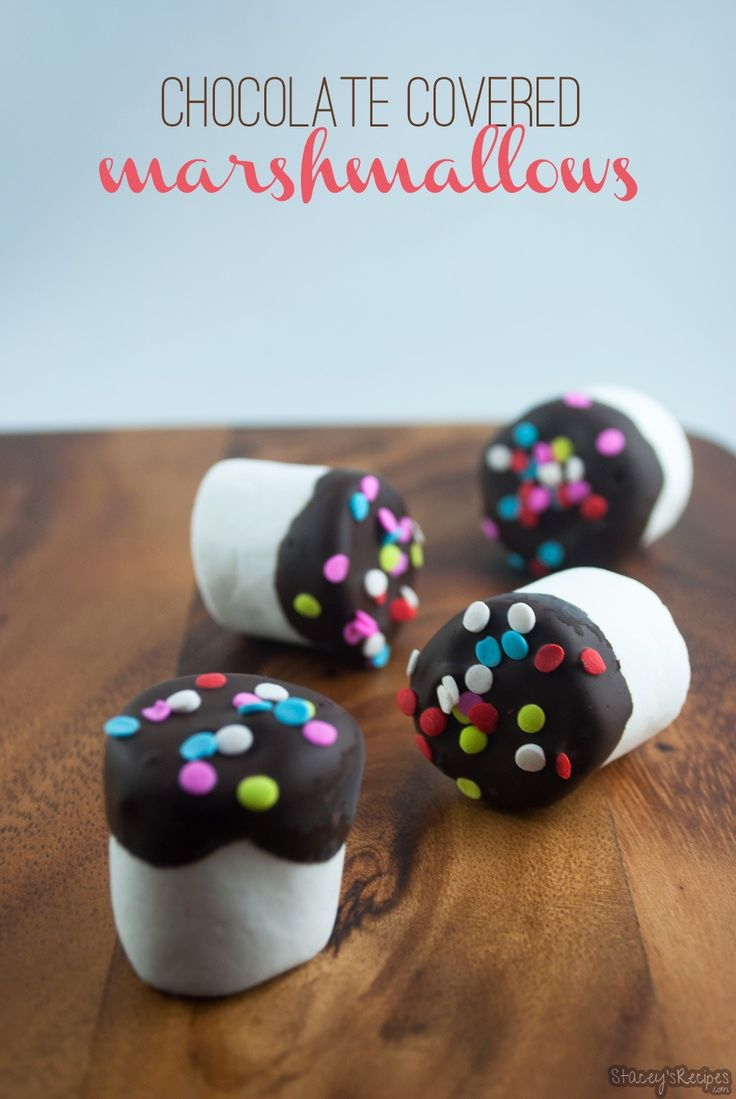 Simple, delicious and seriously easy to make, these chocolate covered marshmallows will become your favourite treat!