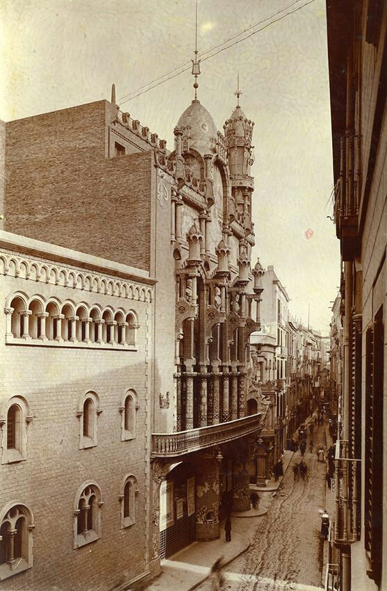 Palau de la Música. Barcelona, 1908.