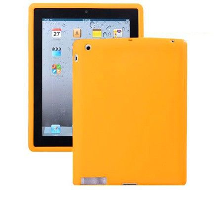 Soft Shell - Safe Front (Gul) iPad 3 Deksel