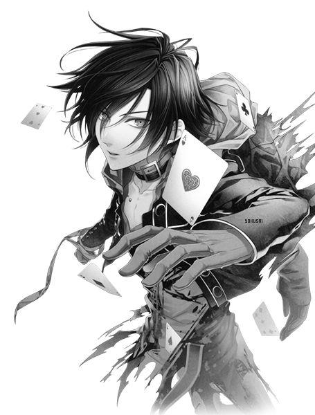 Render VIII by ~Yuu15 on deviantART /// Shin from Amnesia