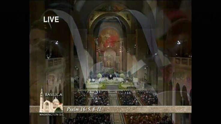 †Easter Vigil Mass† from the Basilica of the National Shrine of the Imma...
