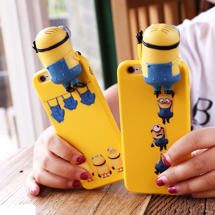 3D Minion Phone Case For Apple iPhone 6 6s 6plus 6splus //Price: $22.99 & FREE Shipping//    Get it now ---> https://phonecaseshut.com/3d-minion-phone-case-iphone-6/    #phonecovers #phonecover