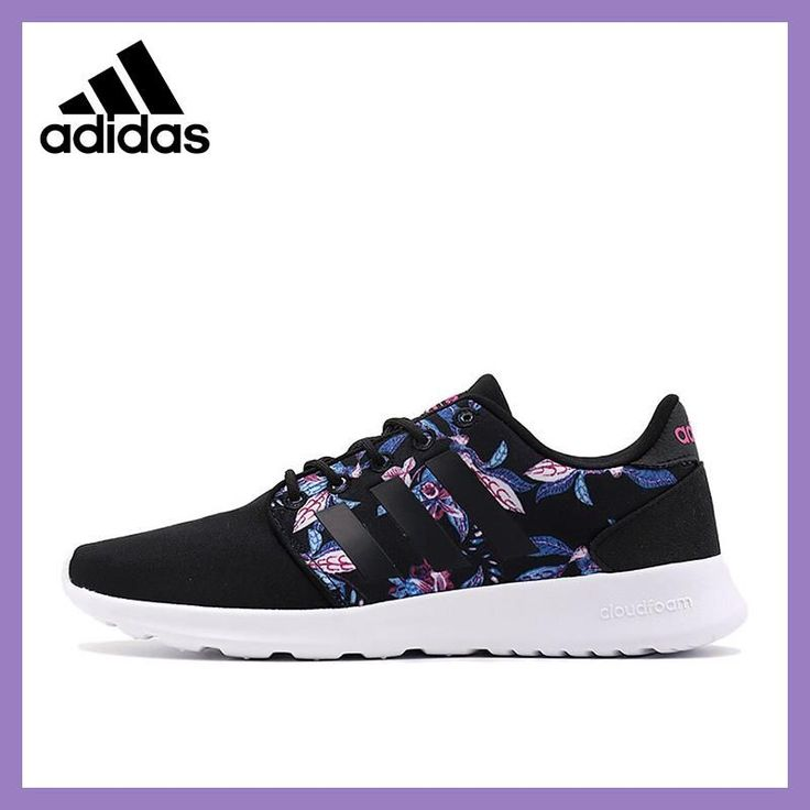 2017 Official New Arrival Adidas NEO Label CLOUDFOAM QT RACER W Women's Skateboarding Shoes Sneakers #skateboardingshoes