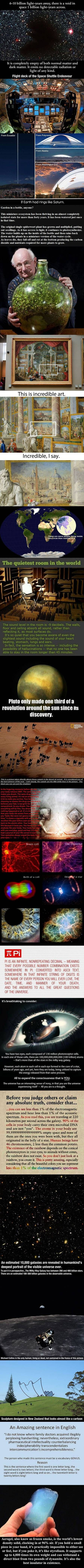 We've rounded up some incredible facts and images that you might've missed.:
