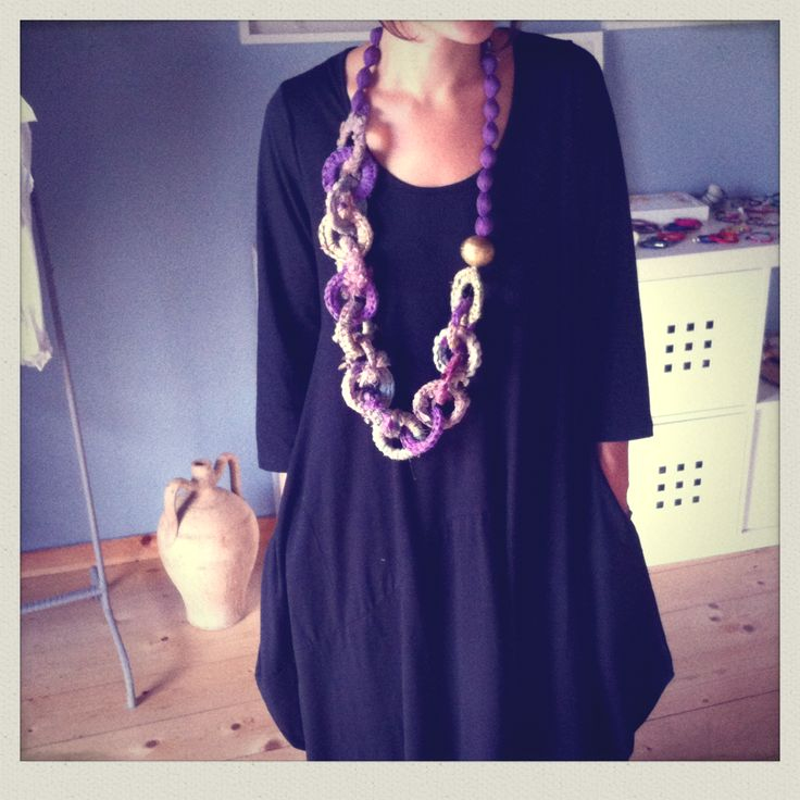 Spring Outfit-Big necklace