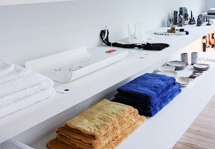 Seeking color-saturated luxury bath linens? Portuguese company Abyss & Habidecor is the go-to source (just ask the geniuses at Seattle shop Totokaelo).