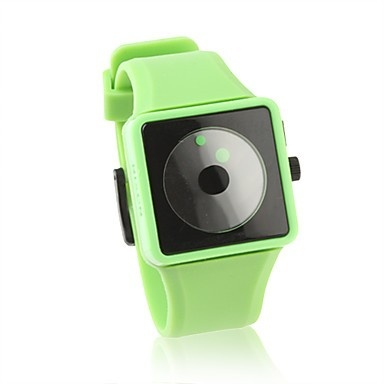 Silicone Band Quartz Wrist Watch. With Green & Pink 2 colours. Under $5
