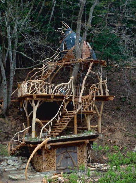 дом на дереве внутри - Поиск в Google