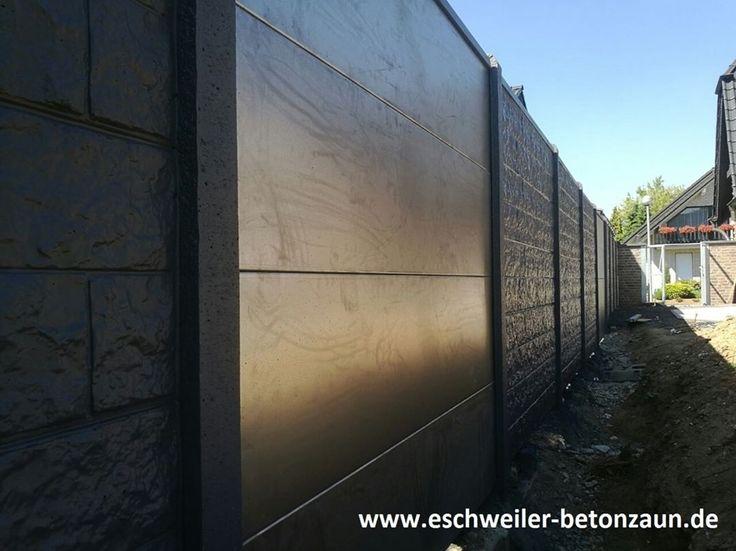 Was für eine Kombination, Metallelemente im Betonzaun! #betonzaun #kowalewski #zaun #Metall #gartengestaltung #inovation #deko #nurbeiuns #zaun #garten #outdoor #gartenliebe #NRW #Eschweiler #köln #Aachen #Düsseldorf #WWW.eschweiler-betonzaun.de