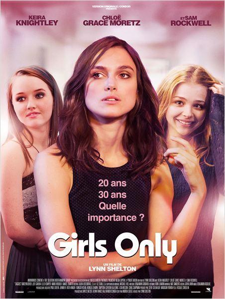 """♥♥♥ """"Girls Only"""", une comédie romantique de Lynn Shelton avec Keira Knightley, Chloë Grace Moretz, Sam Rockwell... (05/2015)"""