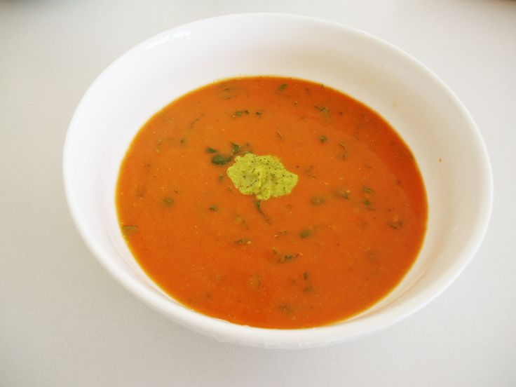 Tomato Corriander Soup http://www.myhealthmyhappiness.com.au/winter-warmer-recipes/
