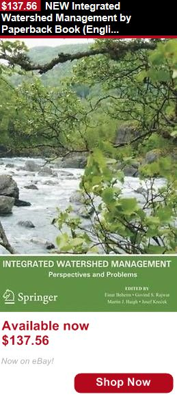 Textbooks Education: New Integrated Watershed Management By Paperback Book (English) Free Shipping BUY IT NOW ONLY: $137.56