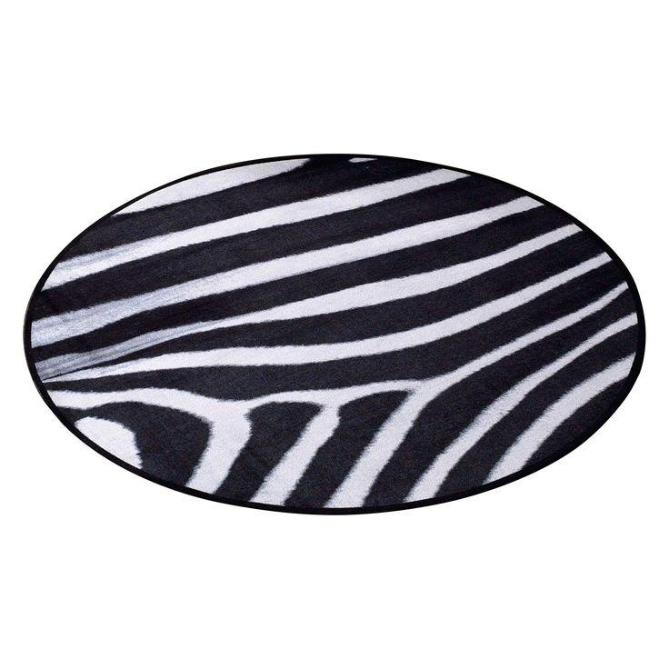 die besten 25 zebra teppich ideen auf pinterest zebra. Black Bedroom Furniture Sets. Home Design Ideas