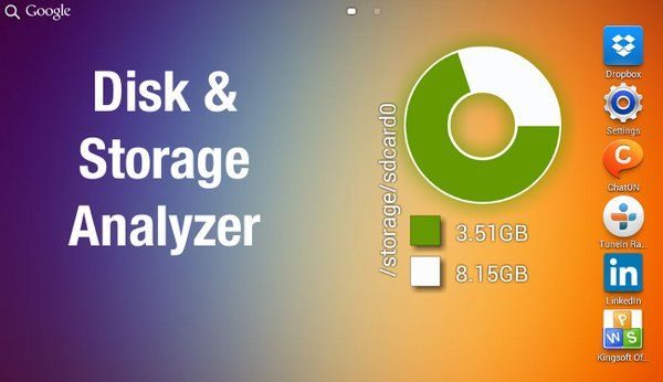 Download Free [Root] Device Storage Analyzer APK v2.0.5.1 Android Apps Requires Android : 2.1 and up ● VISUALIZATION Folders and Files are represented as a Sunburst chart and sorted by their size. Сentral chart sector is a current directory.…