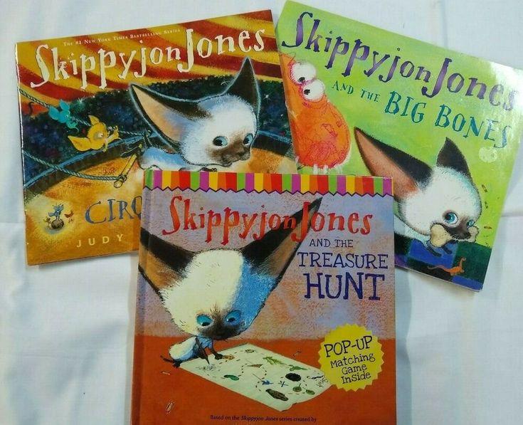 Details about set of 3 books skippy jon jones by judy