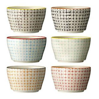 Bloomingville Retro Bowls