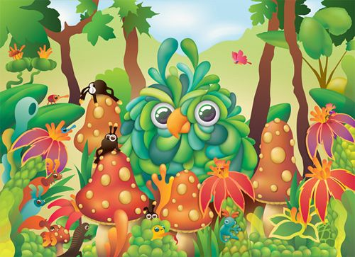 Enjoy Fun And Creativity With These Colorful Monster/Animal Illustrations on http://naldzgraphics.net