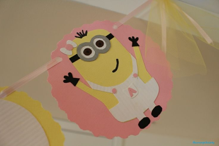 minion baby shower banner minion baby shower pinterest
