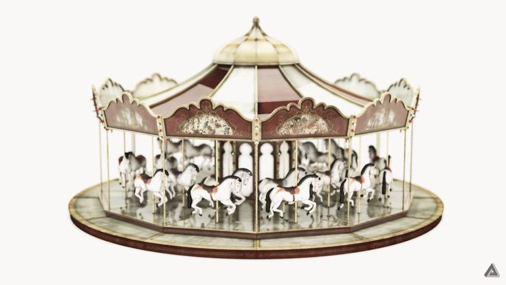 Life is like a carousel  It's stops and starts until the music's over