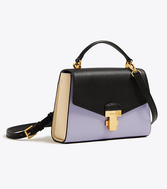 368e54b697a3e Visit Tory Burch to shop for Juliette Color-block Small Top-handle Satchel  and more Womens View All New Arrivals. Find designer shoes