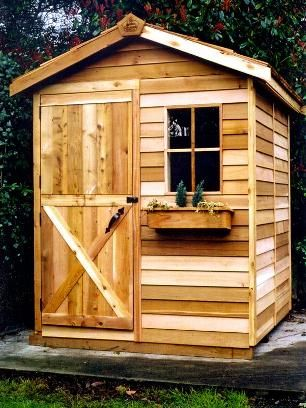 6x6 shed plans garden pinterest sheds the o 39 jays for Garden shed 6x6