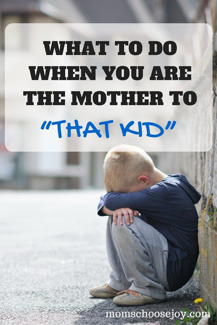 "We've all had moments of overwhelm as moms. But what do you do when your kid can best be described as ""THAT kid?"" A must read for any mom!"