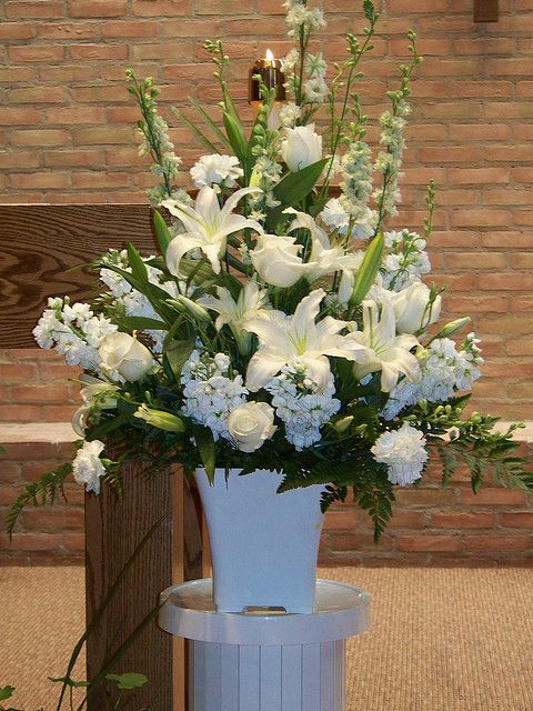 wedding altar flowers | Wedding Altar Flowers | Flickr - Photo Sharing!