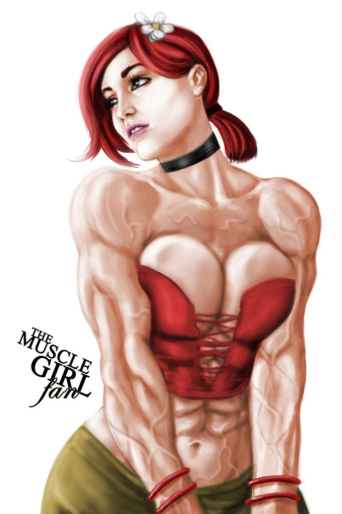 Have Drawings of women bodybuilders final