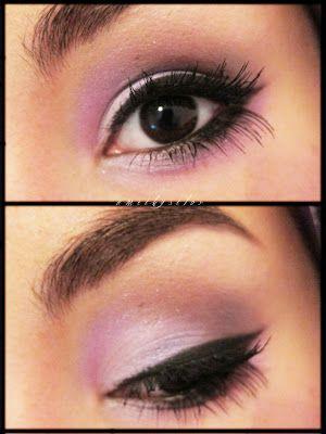 Creepy cute lolita makeup