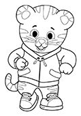 Daniel Tiger's Neighborhood Coloring Pages