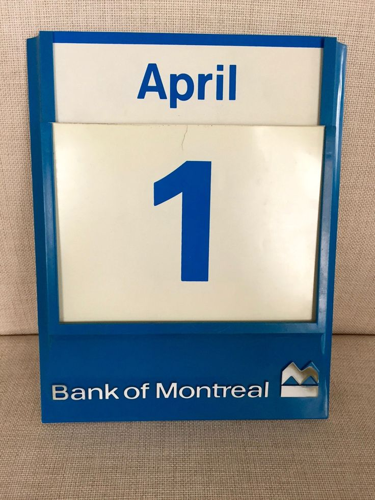 Vintage BANK of MONTREAL CALENDAR, Perpetual Wall Calendar by BarnboardAntiques on Etsy