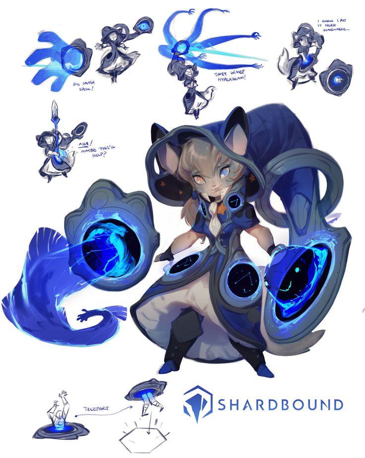 ArtStation - Shardbound - Professor Mori, Nicholas Kole