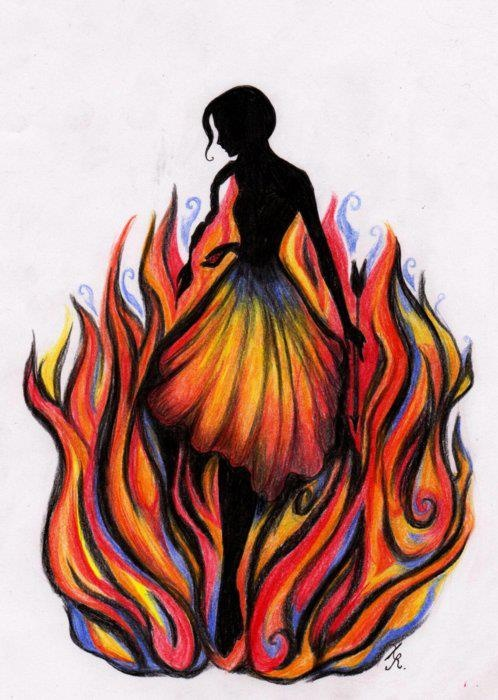 Girl on Fire.  Finally getting to see The Hunger Games is going to be my bestest birthday present since the days when I still got dollies for presents.