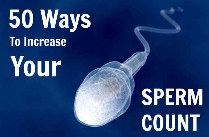 Foods to increase sperm count