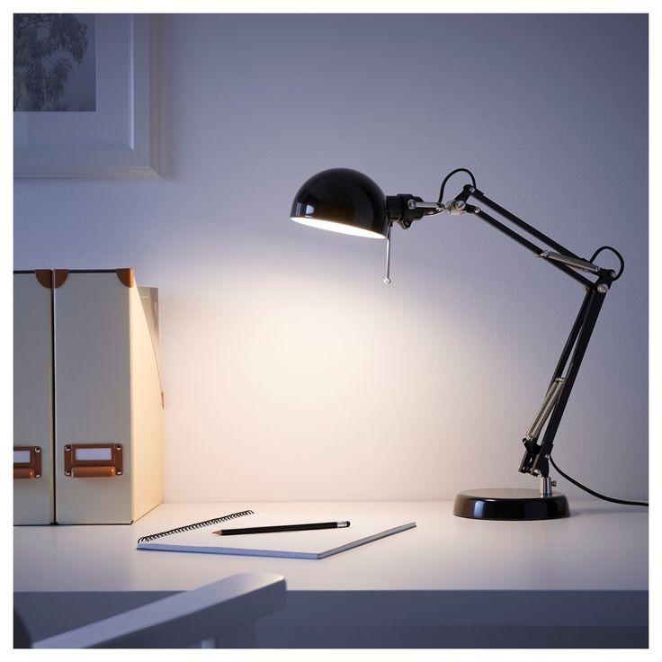 IKEA - FORSÅ Work lamp black