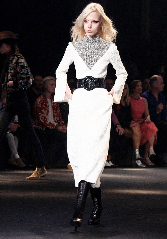 The Saint Laurent Show in Hollywood Was a Glam-Rock Masterpiece via @WhoWhatWearUK