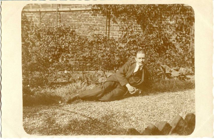 Lounging about in the garden - No date
