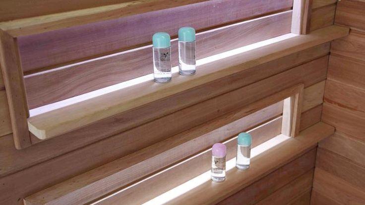 tablettes sauna cabine hydromassage lara