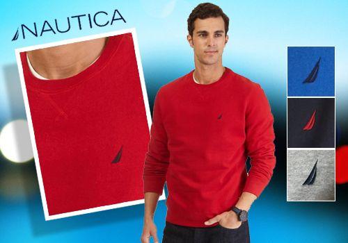Αθλητική διάθεση με τα νέα ανδρικά φούτερ της Nautica, από 70,00€ Μόνο 29,00€