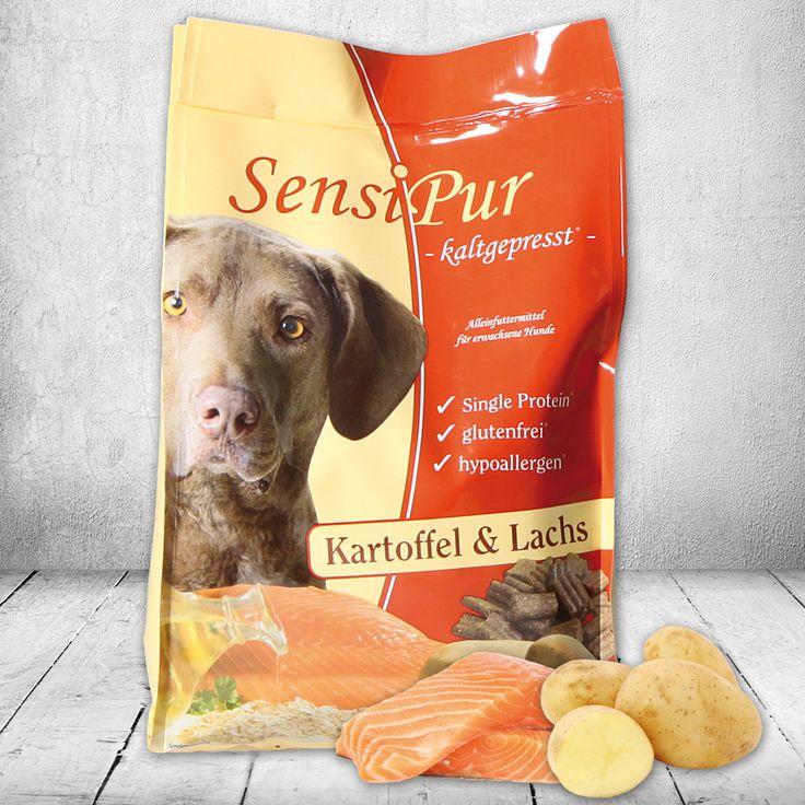SensiPur Trockenfutter für Hunde. - Kaltgepresst - glutenfrei - hypoallergene