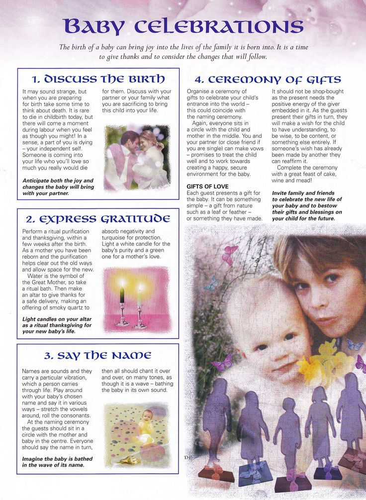 Book of Shadows:  #BOS Baby Celebrations page.