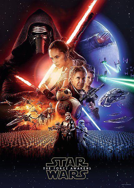 Puzzle TREFL 37269 Star Wars: Epizoda 7 500 dílků